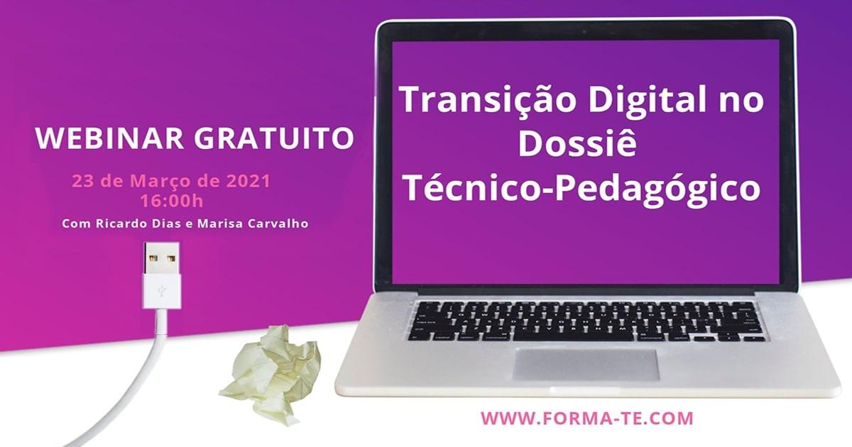 Transição Digital no Dossiê Técnico-Pedagógico